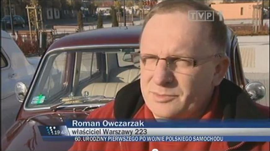 60 urodziny polskiego samochodu Warszawa